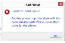 3 Cara Atasi Unable To Install Printer Another Printer Already Exists