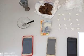 Homem é detido acusado de tráfico de drogas em Barra da Estiva