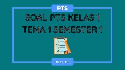 Soal PTS Kelas 1 Tema 1 Semester 1 dan Kunci Jawaban