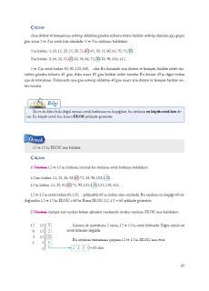 8. Sınıf Matematik Ekoyay Yayınları Sayfa 17