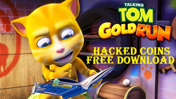 Download Talking Tom Gold Run Hack Mod Apk Game