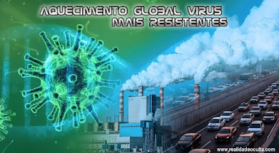 aquecimento global virus