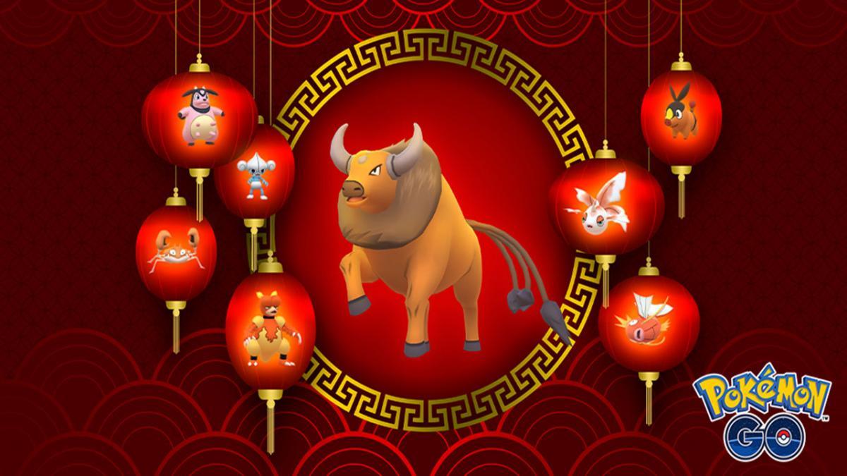 Lunar New Year in Pokémon GO 2021: tasks and rewards, raid bosses, Pokémon from 5 km eggs...