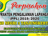 Download Contoh Spanduk Perpisahan PPL Format CDR