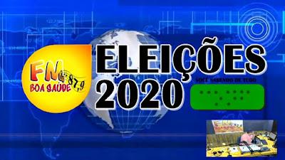 Assista a cobertura das eleições 2020