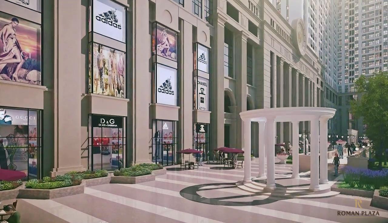 trung tâm thương mại dự án Roman Plaza