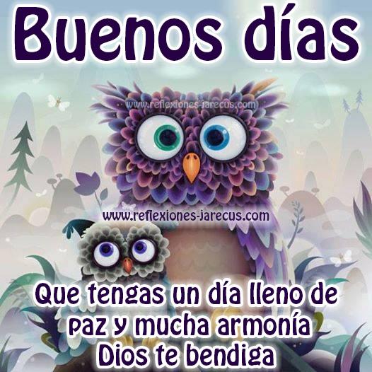 Que tengas un lindo día lleno de paz y armonía Dios te bendiga... Buenos días
