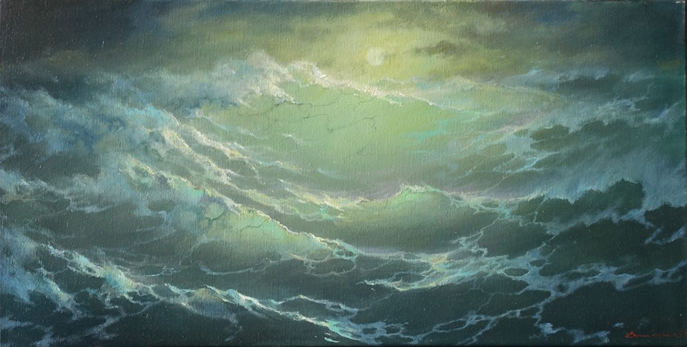 The sea is alive and water - Art by George Dmitriev - BlogFanArt