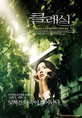 Carátula de la película coreana The Classic