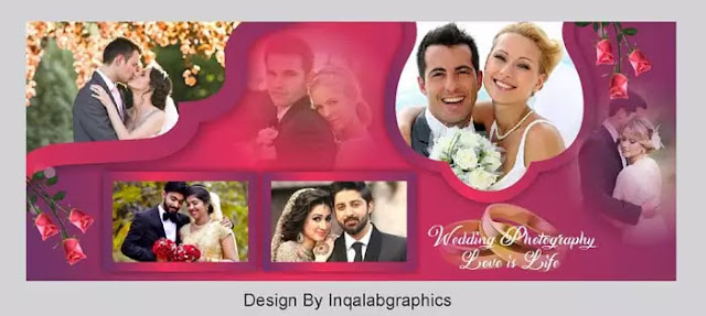 Photo Album Design - Download Free PSD