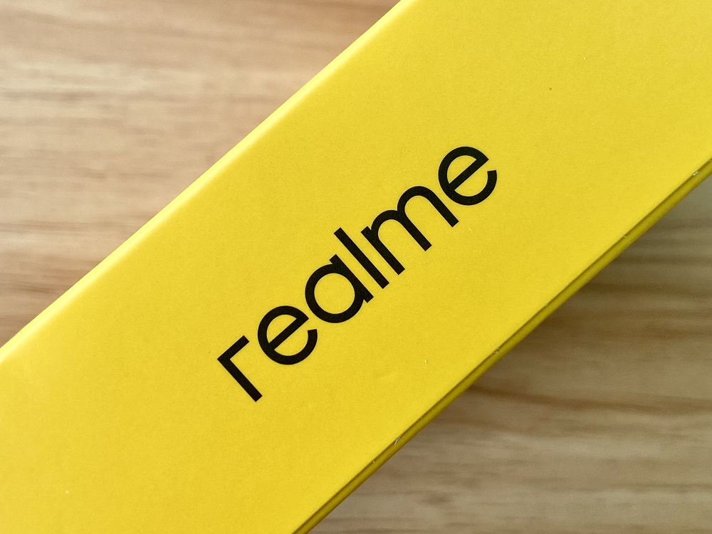 realme Motion Activated Night Light Retail Box - Sides