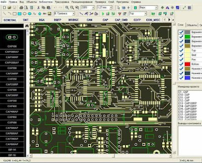 DipTrace برنامج تصميم و محاكاة الدوائر الإلكترونية و تصميم العناصر الإلكترونية