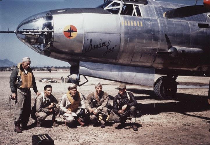 Sandra lee equipaggio b-26 barauder sardegna 1944
