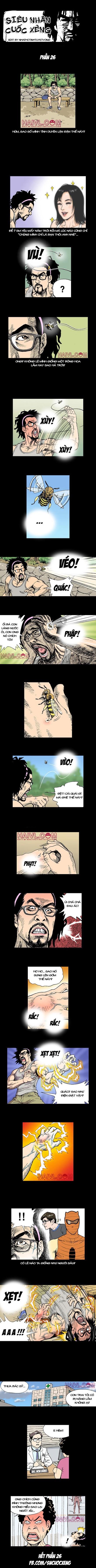 Siêu nhân Cuốc Xẻng (full bộ) phần 26