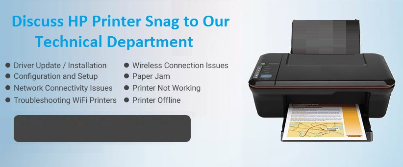 Discuss HP Printer Snag to Our Technical Department