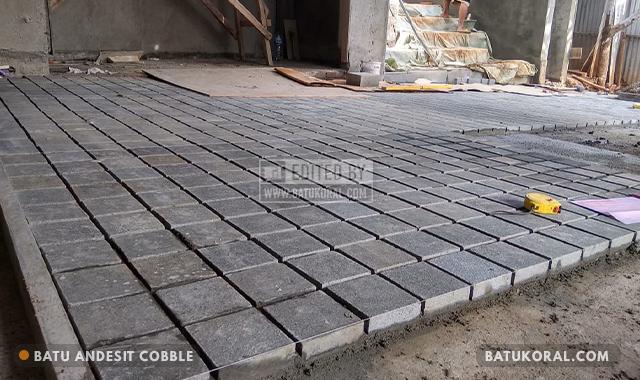 batu alam untuk lantai garasi