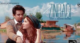 Zindagi Lyrics - Akay Ft. Mahira Sharma