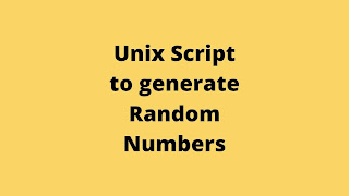 Script to Generate Random Number Easily