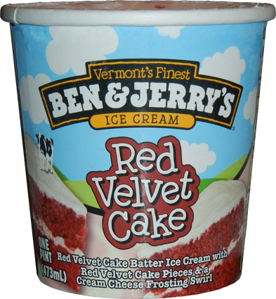 Ben Jerrys Red Velvet Cake Ice Cream