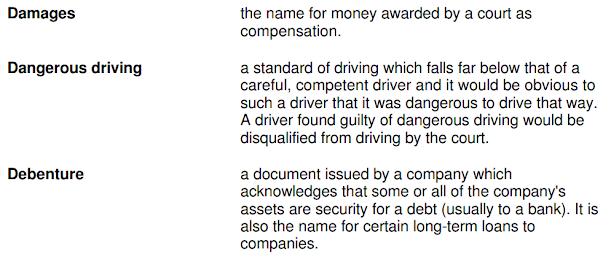 Download Istilah Hukum dalam bahasa Inggris
