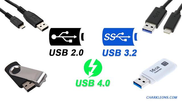 Aprende cómo diferenciar la tecnología USB 2.0 de la USB 3.0/3.1/3.2 - Charkleons.com