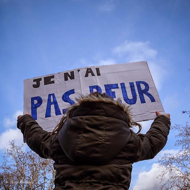 je n'ai pas peur - marche républicaine 2015 #paris #JeSuisCharlie