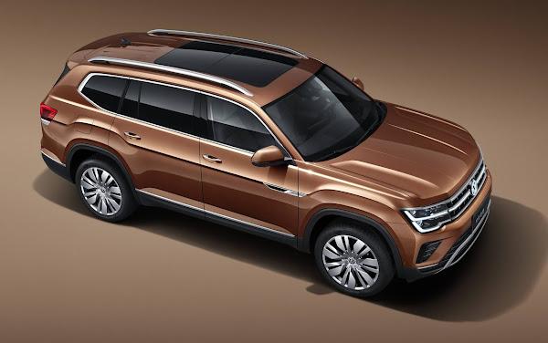 Volkswagen Teramont ganha facelif na China - fotos oficias divulgadas
