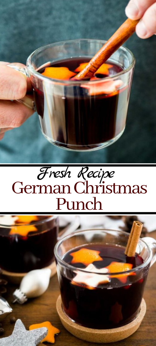 German Christmas Punch  #healthydrink #easyrecipe #cocktail #smoothie