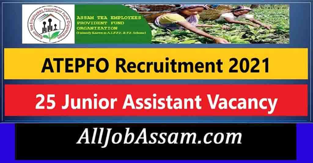 ATEPFO Recruitment 2021