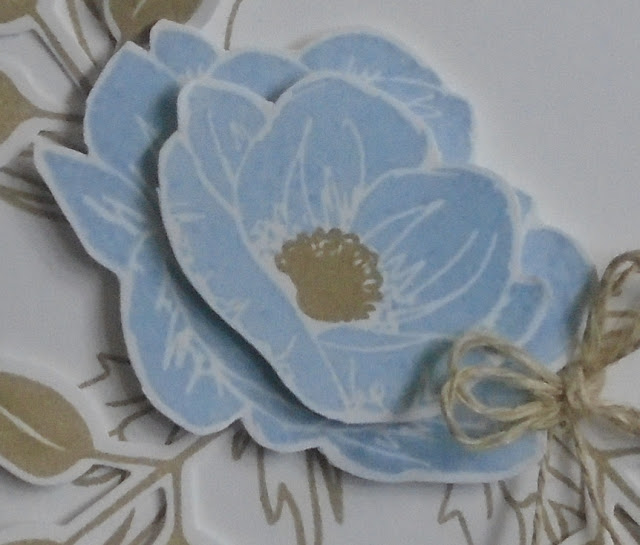 Craftyduckydoodah, Floral Essence, Scripty Embossing Folder, Stampin' Up! Susan Simpson UK Independent Stampin' Up! Demonstrator, Supplies available 24/7 from my online store