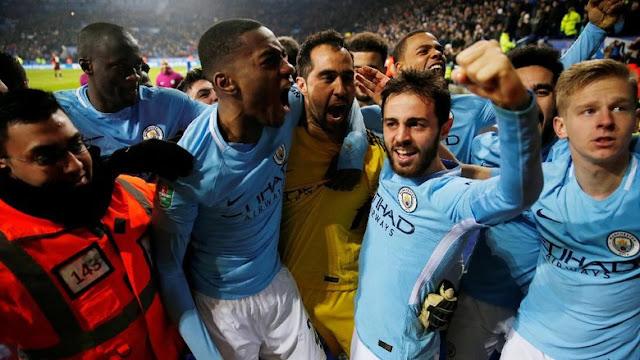 Piala Liga Inggris: Kembali Menang Adu Penalti, City ke Semifinal