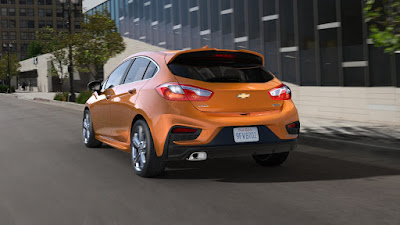 The 2017 Chevrolet Cruze Hatchback Arrives This Fall