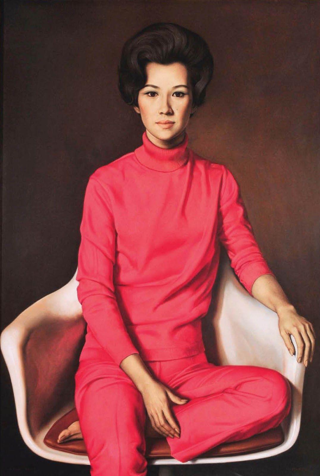 Claudio  ravo Camus Portrait of Conchita La O Lopez