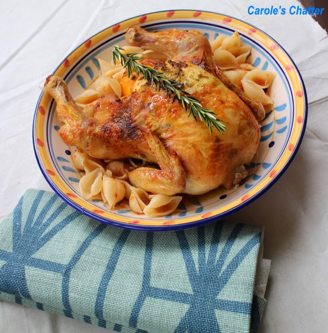 Ginger Roast Chicken for Sunday Lunch by Carole's Chatter