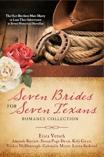 http://www.amazon.com/Seven-Brides-Texans-Romance-Collection/dp/1634099656/ref=sr_1_1?ie=UTF8&qid=1462928781&sr=8-1&keywords=Seven+Brides+for+Seven+Texans