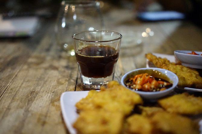 Sajian di Abah Kopi Cafe Jogja