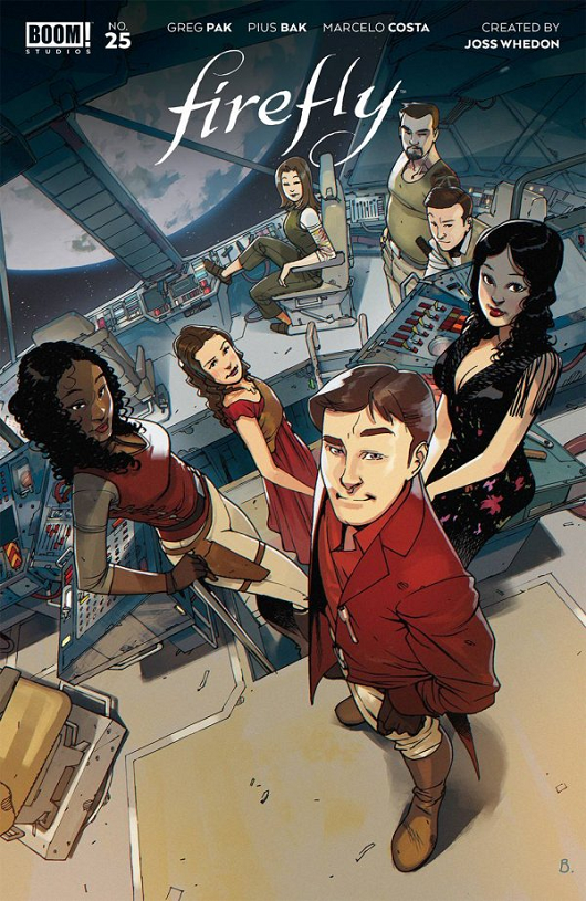 Cover of Firefly #25