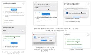 Digio DSC Signing flow