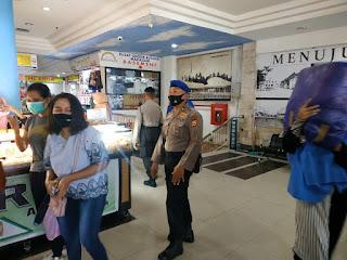Polres Pelabuhan Makassar Gencar Operasi Yustisi Imbau Warga Patuhi Prokes