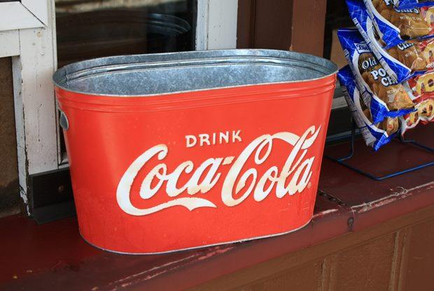 Regalo promocional de Coca-cola