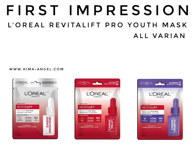 First Impression L'Oreal Paris Revitalift Pro Youth Mask - All Varian