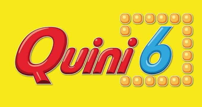 El Quini 6 quedó vacante y se viene con $330 millones estimados
