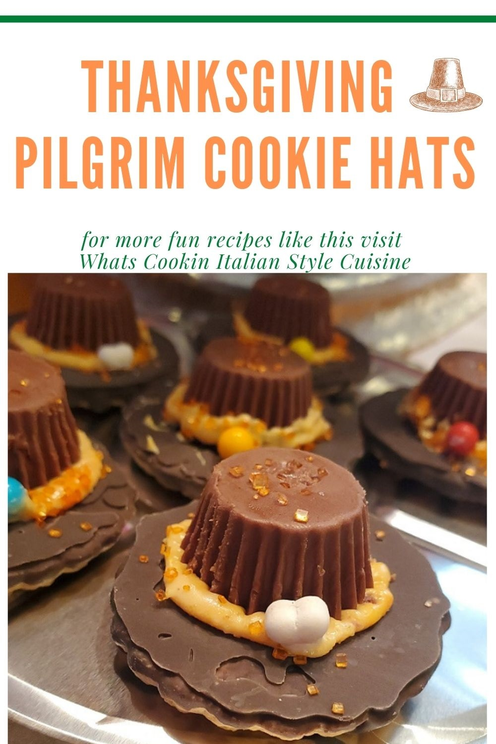 this is a pin for later on how to make Pilgrim Hats for Thanksgiving