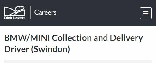 Collection and Delivery Driver Jobs