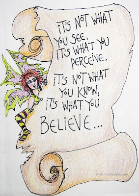 It's What You Believe Visual Journal