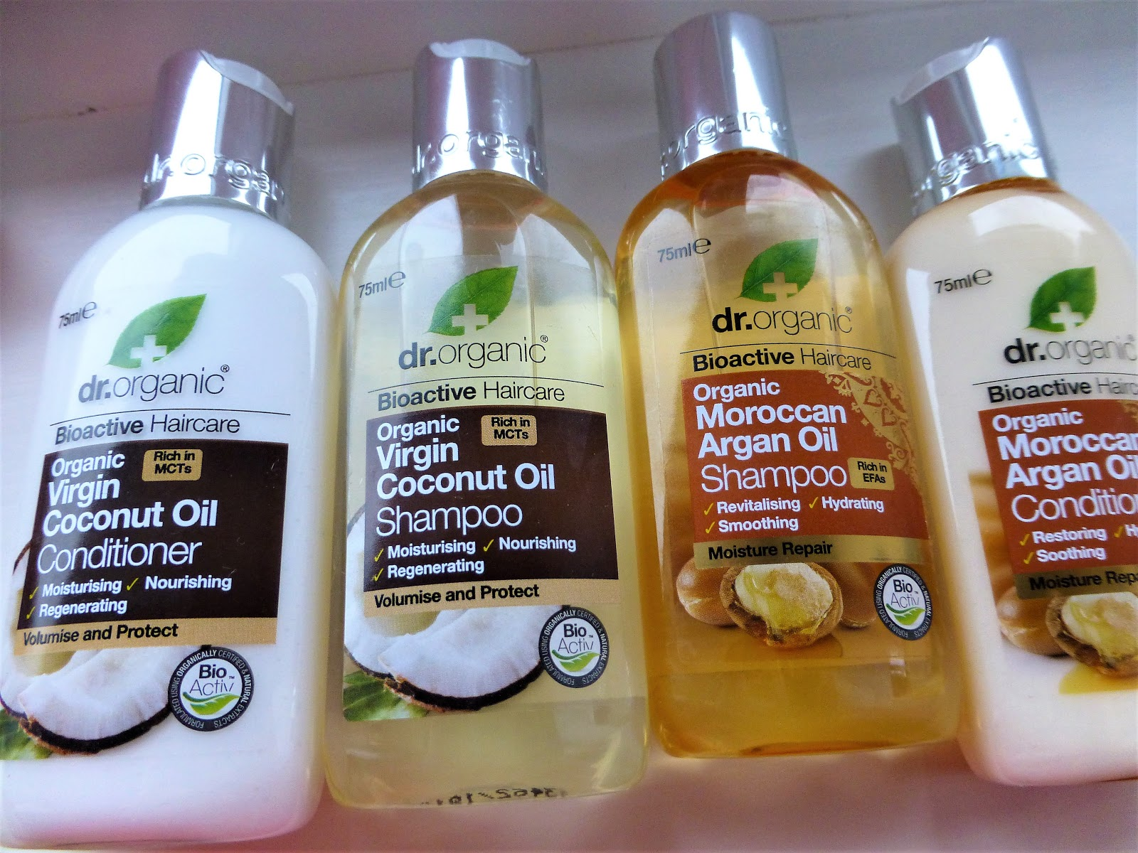 Beck's Bunny Free Beauty: Review: Dr  Organic Hair and Skin Care