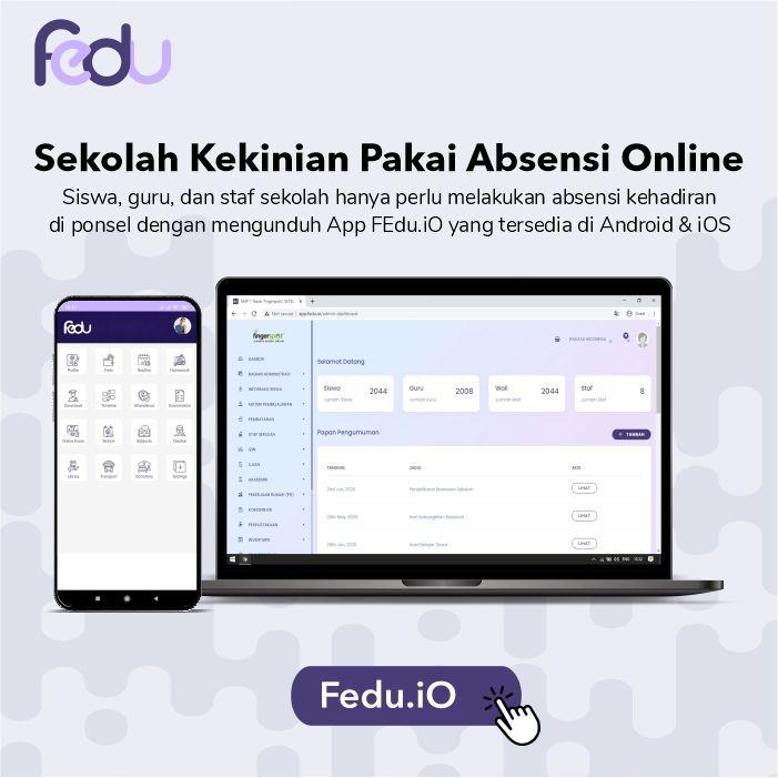 manajemen sekolah online Fingerspot Education