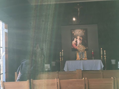 A Sign from Above During Adoration