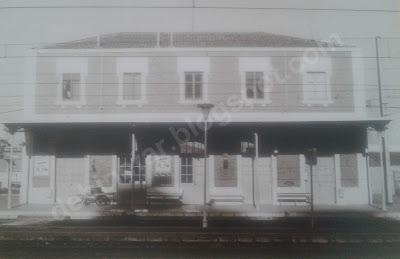 La estación de Tren de Binéfar