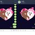 【技巧】LINE情人節特效,輸入關鍵字看熊大兔兔放閃